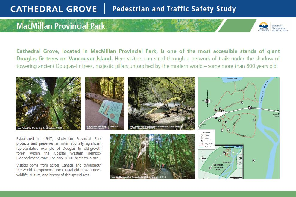 Information about MacMillan Provincial Park