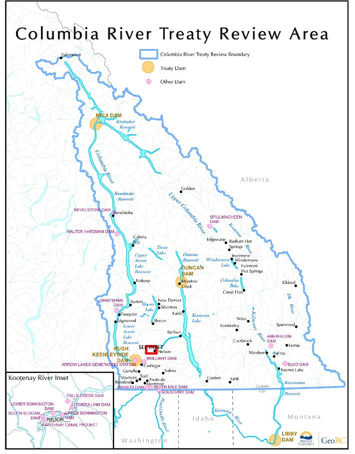 Maps | Columbia River Treaty