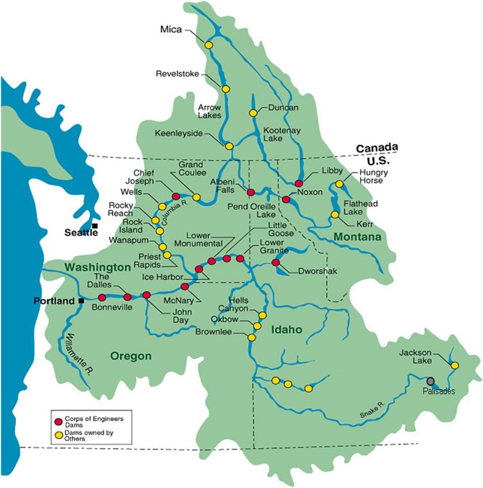 Maps | Columbia River Treaty