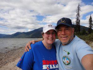 Ben and Tekah at Murtle Lake