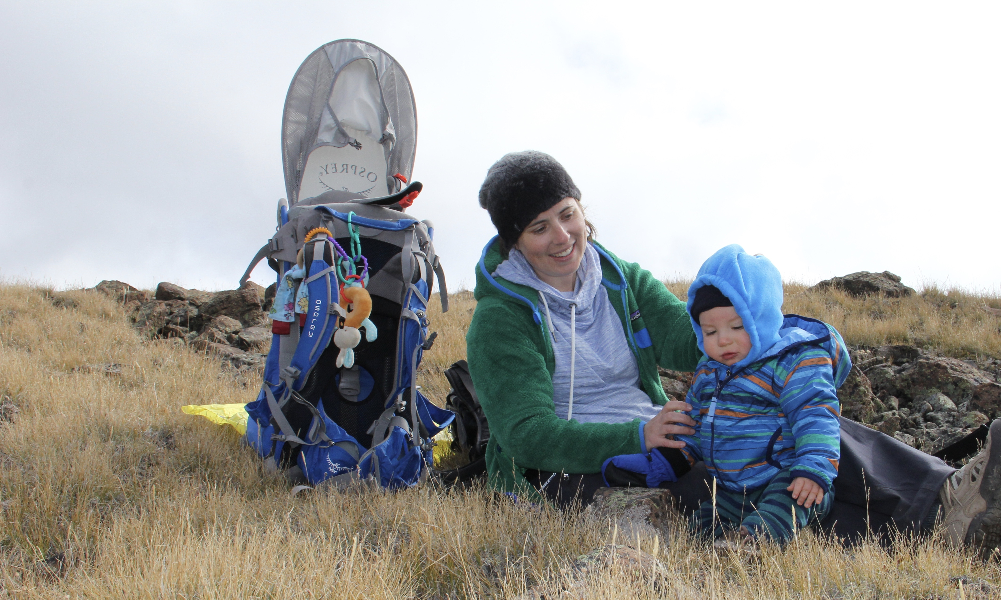 Top 10 tips for hiking with a baby